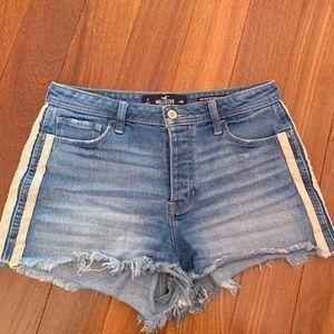Hollister Vintage Stretch High Rise Shorts 7 28